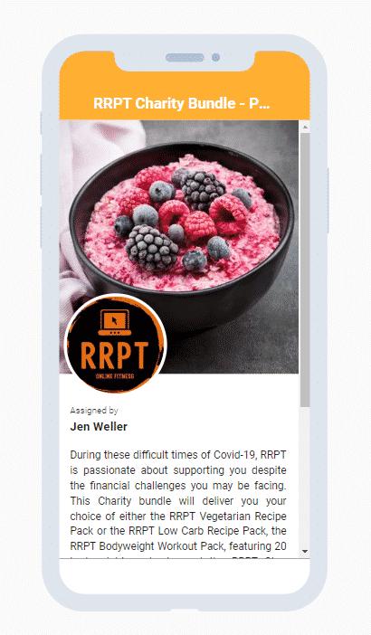 Online Programme from RRPT